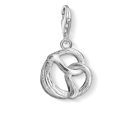 "Charm pendant ""pretzel"" from the  collection in the THOMAS SABO online store"