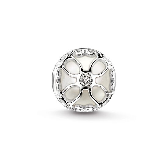 "Bead ""lotus flower pearl"" from the Karma Beads collection in the THOMAS SABO online store"