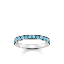ring turquoise stones from the Glam & Soul collection in the THOMAS SABO online store