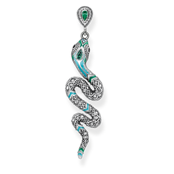 "orecchino pendente ""serpente"" from the Glam & Soul collection in the THOMAS SABO online store"