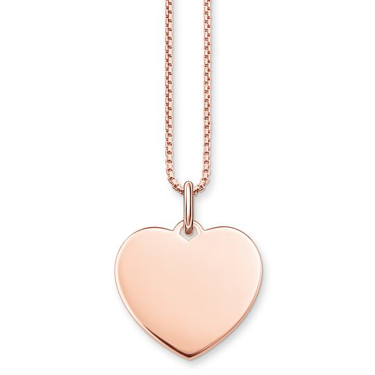 necklace heart from the  collection in the THOMAS SABO online store