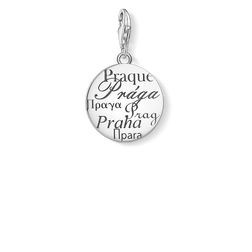 Ciondolo Charm Praga argento from the  collection in the THOMAS SABO online store