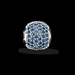 Bead saphir bleu avec pavé de la collection Karma Beads dans la boutique en ligne de THOMAS SABO
