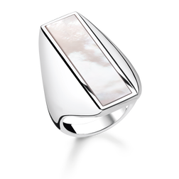"ring ""mother-of-pearl"" from the Glam & Soul collection in the THOMAS SABO online store"