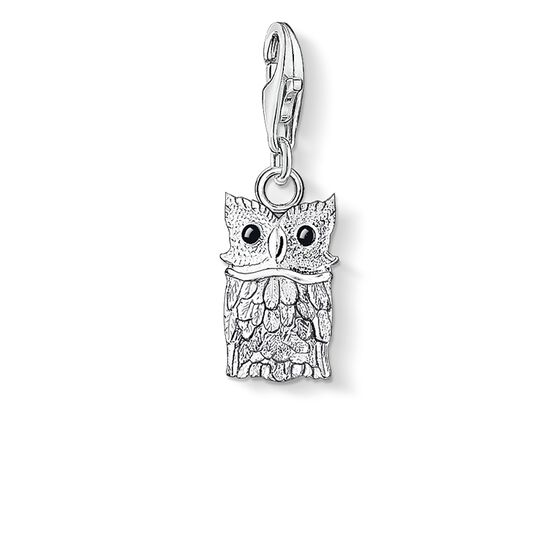 "ciondolo Charm ""gufo"" from the  collection in the THOMAS SABO online store"