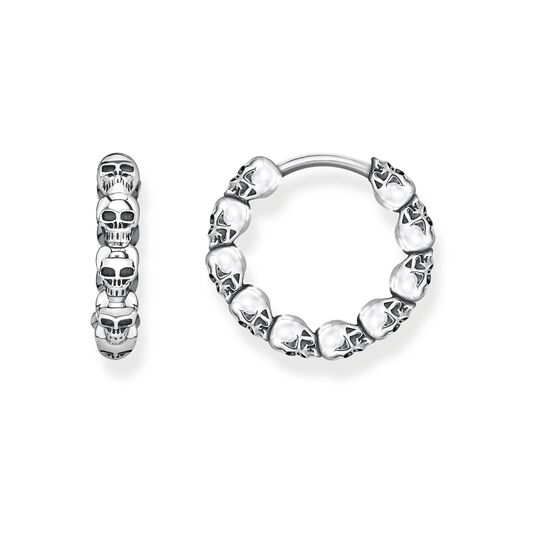 hoop earrings skulls from the Glam & Soul collection in the THOMAS SABO online store