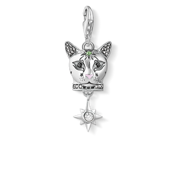Charm pendant Cat silver from the Charm Club Collection collection in the THOMAS SABO online store