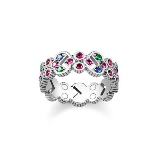 ring royalty colourfull stones from the  collection in the THOMAS SABO online store