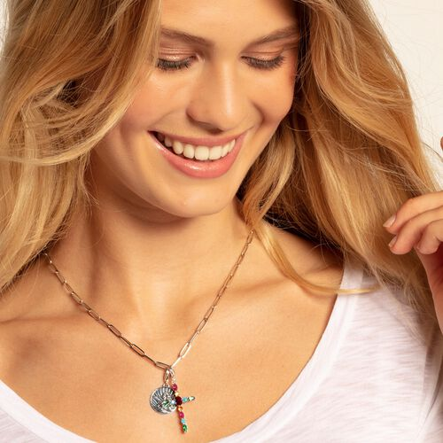 """Charm pendant """"disc guardian angel"""" from the  collection in the THOMAS SABO online store"""