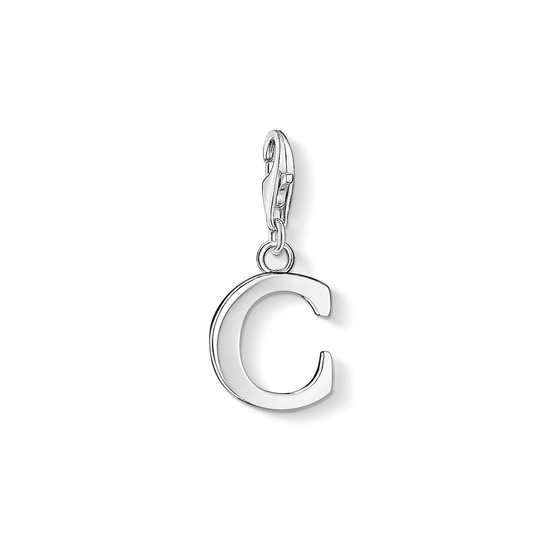 Charm pendant letter C from the Charm Club collection in the THOMAS SABO online store