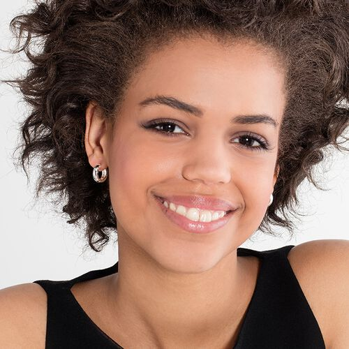 """hoop earrings """"classic small"""" from the Glam & Soul collection in the THOMAS SABO online store"""