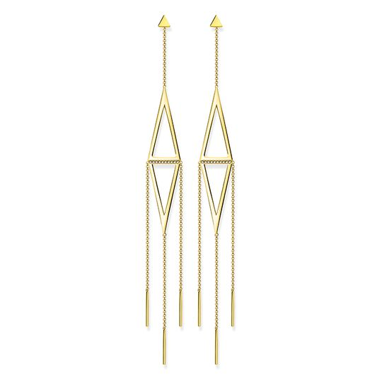 earrings triangle from the  collection in the THOMAS SABO online store
