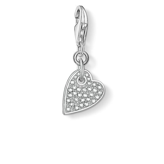 """Charm pendant """"heart LOVE"""" from the  collection in the THOMAS SABO online store"""
