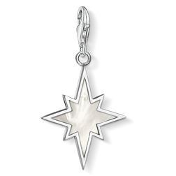 Charm pendant star mother-of-pearl from the  collection in the THOMAS SABO online store