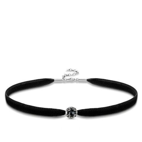 """Gargantilla """"loto negro"""" de la colección Glam & Soul en la tienda online de THOMAS SABO"""