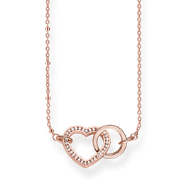 """collana """"cuore Together Forever"""" from the Glam & Soul collection in the THOMAS SABO online store"""