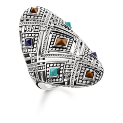 ring african ornaments from the Glam & Soul collection in the THOMAS SABO online store