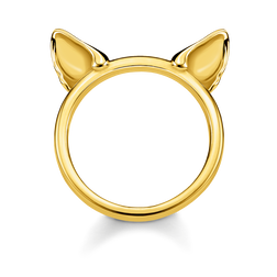 anello Orecchie di gatto oro from the Glam & Soul collection in the THOMAS SABO online store