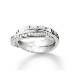 "Ring ""TOGETHER FOREVER""  aus der Glam & Soul Kollektion im Online Shop von THOMAS SABO"
