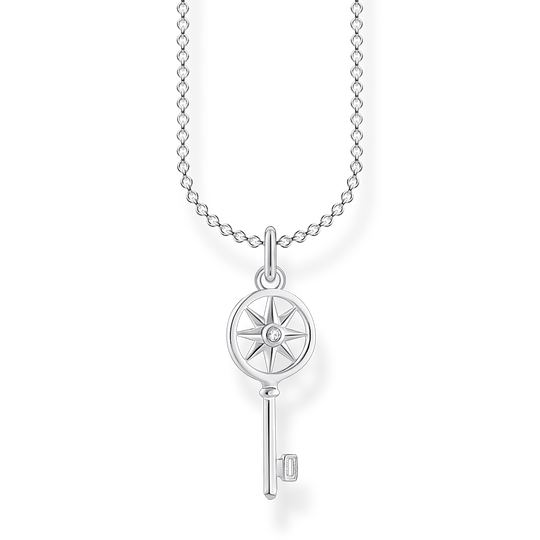 Necklace Key with star from the Charming Collection collection in the THOMAS SABO online store