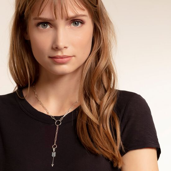 """Charm pendant """"arrow turquoise"""" from the  collection in the THOMAS SABO online store"""
