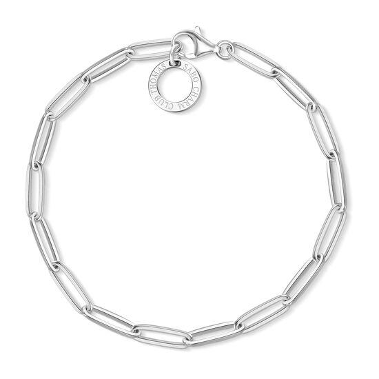 TS Charm Bracelet (Silver)