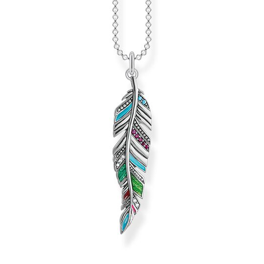 necklace Ethnic feather from the  collection in the THOMAS SABO online store