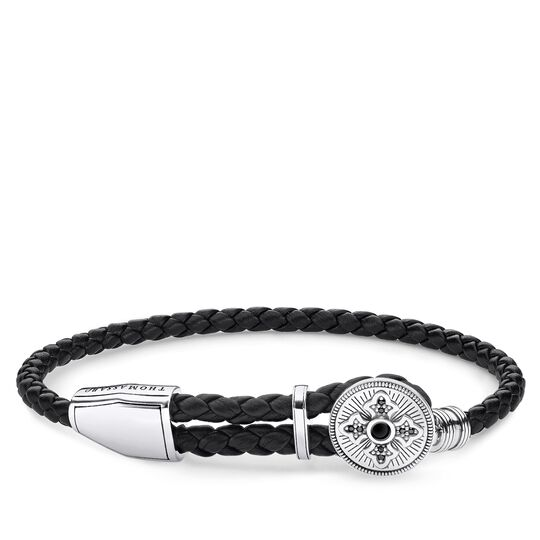 leather strap cross from the Rebel at heart collection in the THOMAS SABO online store