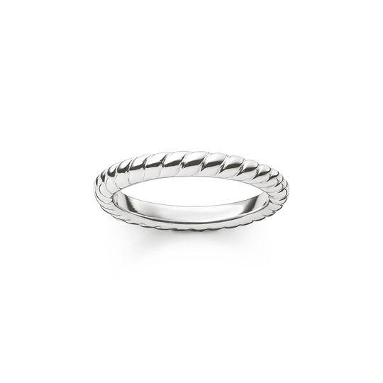 Ring Kordeloptik aus der  Kollektion im Online Shop von THOMAS SABO