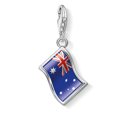 Charm pendant flag Australia from the Charm Club Collection collection in the THOMAS SABO online store