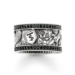 "Eternityring ""Schwert"" aus der Rebel at heart Kollektion im Online Shop von THOMAS SABO"