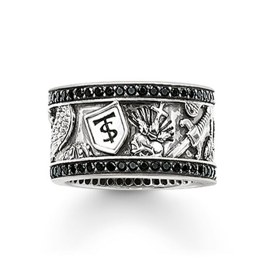 """eternity ring """"sword"""" from the Rebel at heart collection in the THOMAS SABO online store"""