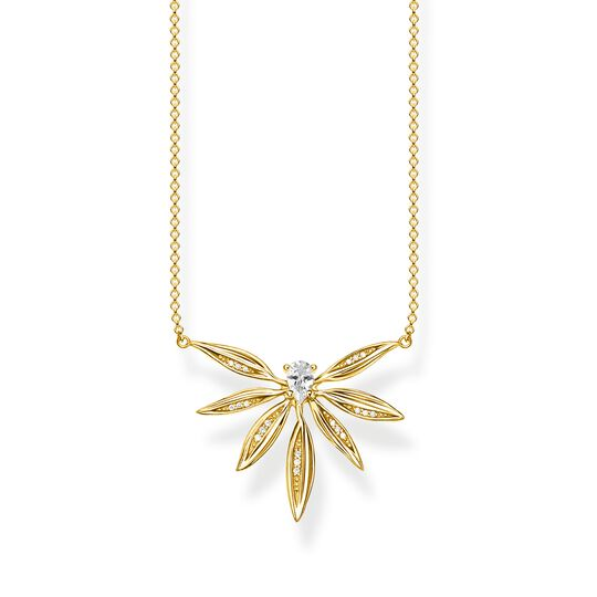 necklace leaves gold from the  collection in the THOMAS SABO online store