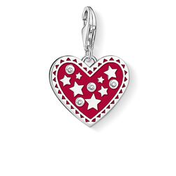 """Charm pendant """"Heart with stars """" from the  collection in the THOMAS SABO online store"""