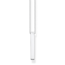 necklace Silver cuboid from the Glam & Soul collection in the THOMAS SABO online store