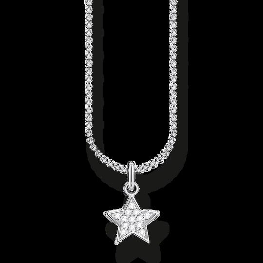 Chaîne étoile pavé argent de la collection Charming Collection dans la boutique en ligne de THOMAS SABO