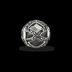 """Bead """"Maharani noire"""" de la collection Karma Beads dans la boutique en ligne de THOMAS SABO"""
