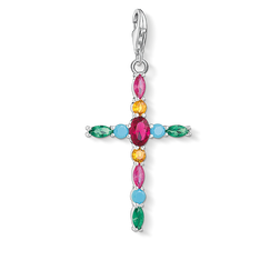 "Charm pendant ""Cross colorful"" from the  collection in the THOMAS SABO online store"