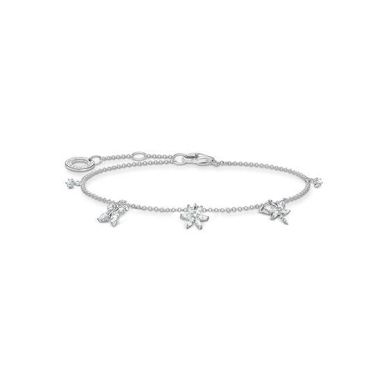Armband Schmetterling weiße Steine aus der Charming Collection Kollektion im Online Shop von THOMAS SABO
