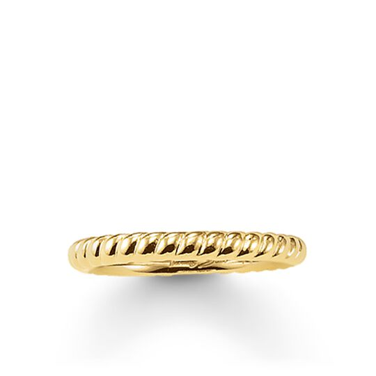 bague aspect cordelette de la collection Glam & Soul dans la boutique en ligne de THOMAS SABO