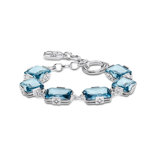 bracelet large blue stones from the Glam & Soul collection in the THOMAS SABO online store