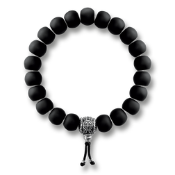 "bracelet ""Power Bracelet Ethnic Black"" from the Rebel at heart collection in the THOMAS SABO online store"