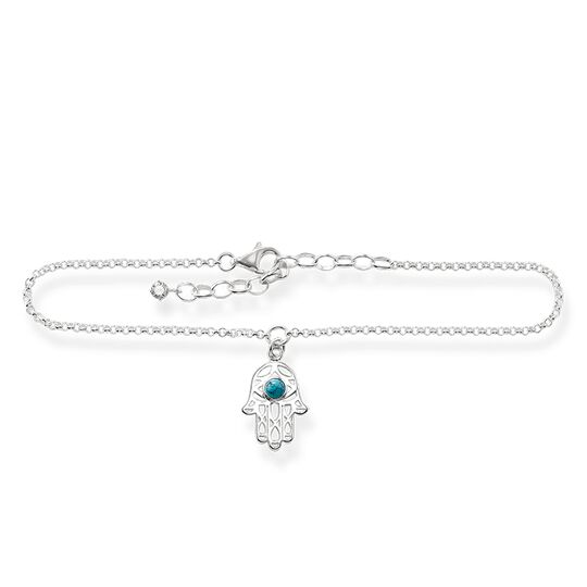 """anklet """"Hand of Fatima"""" from the Glam & Soul collection in the THOMAS SABO online store"""