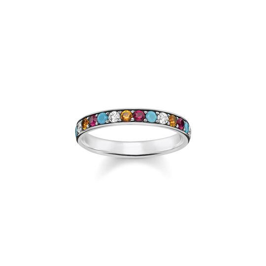 Ring colourful stones from the  collection in the THOMAS SABO online store