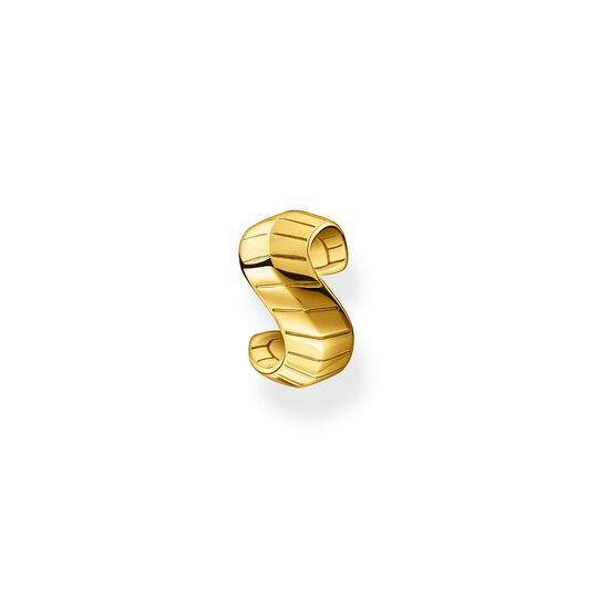 Single ear cuff snakeskin gold from the Glam & Soul collection in the THOMAS SABO online store