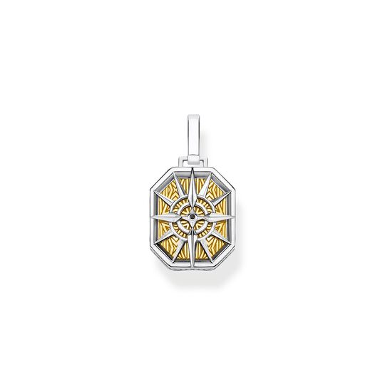 pendant compass gold from the  collection in the THOMAS SABO online store