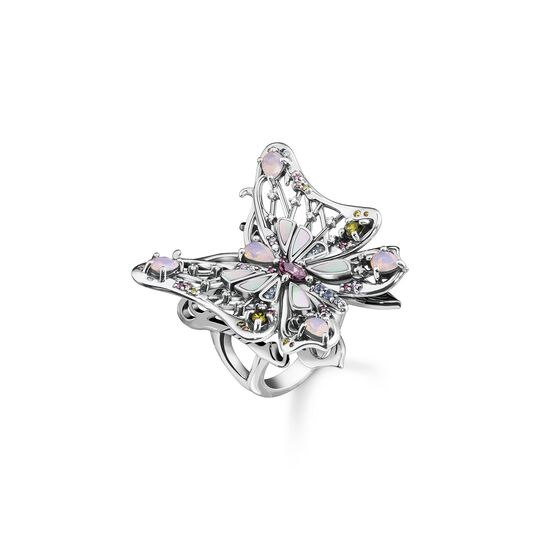 Ring butterfly silver from the  collection in the THOMAS SABO online store