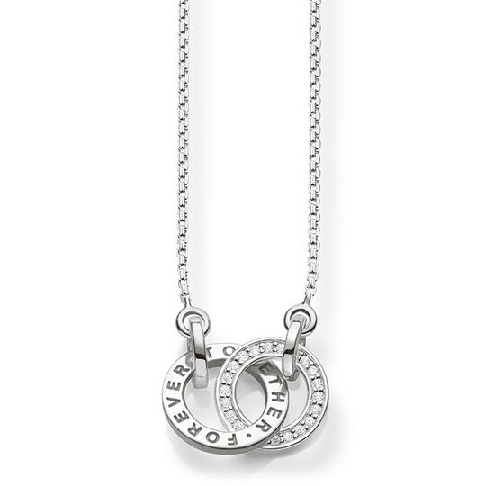 Necklace Forever Together small silver from the  collection in the THOMAS SABO online store