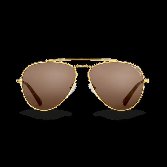 Sonnenbrille Harrison Pilot Havanna aus der  Kollektion im Online Shop von THOMAS SABO