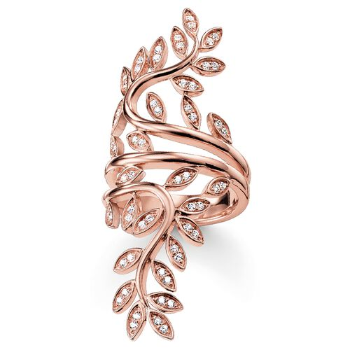 "ring ""tendrils large"" from the Glam & Soul collection in the THOMAS SABO online store"